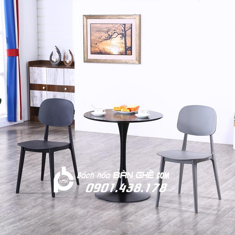Bộ Bàn tròn 2 ghế tiếp khách văn phòng